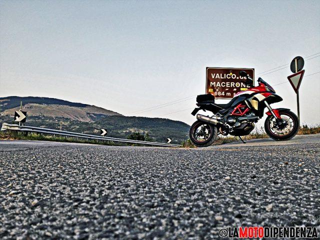 SS17 Il Valico del Macerone e la motodipendenza da soddisfare