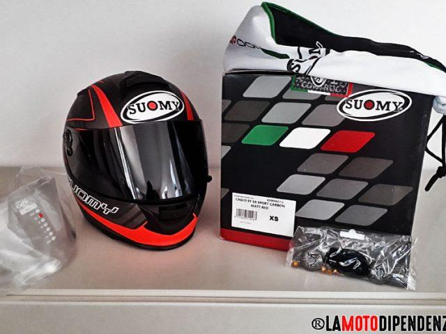 La mia recensione sul nuovo acquisto; casco Suomy SR Sport Carbon